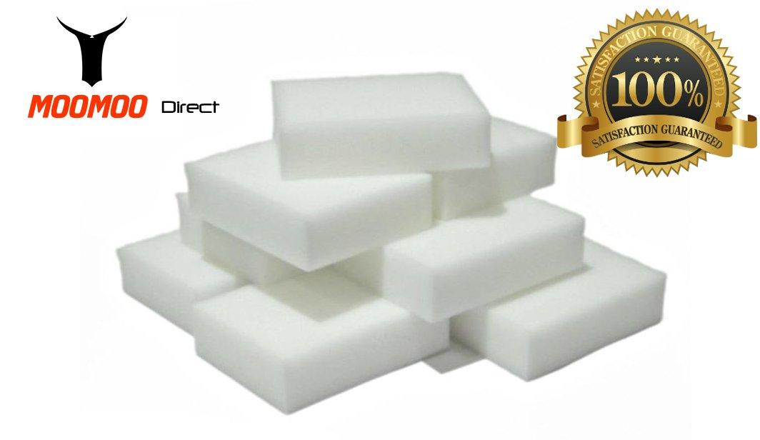 MOOMOO Premium Magic Cleaning Eraser Sponge Melamine Foam High Quality(40 Pack) MOOMOO Direct SYNCHKG062038