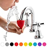 Dreamfarm Tapi - Faucet Drinking Fountain, Fits Most Taps (Assorted Colors)