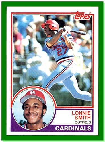 1983 Topps #465 Lonnie Smith ST. LOUIS CARDINALS (1983 St Louis Cardinals)