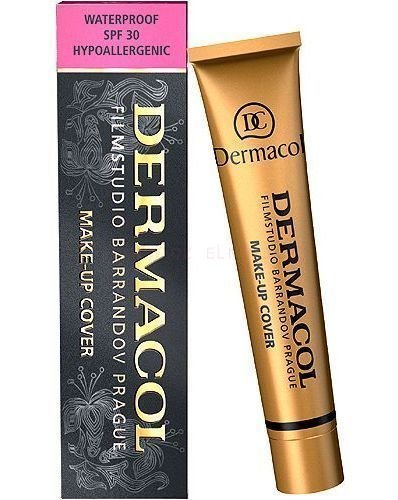 Dermacol Make-up Cover - Waterproof Hypoallergenic, All 13 Shades, 1 oz, 30 g (210)