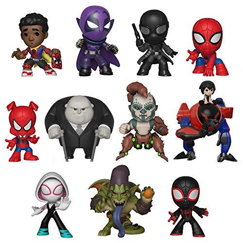 - Funko Mystey Mini: Animated Spider-Man Movie - One Mystery Collectible Figure, Multicolor