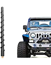 VOFONO 9 Inch Spiral Replacement Antenna for 2007-2019 Jeep Wrangler JK JL