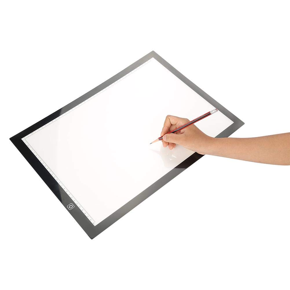 Humorous A4 Led Stencil Board Light Box Artist Tracing Drawing Copy Plate Table Gift Clipboard Notebooks & Writing Pads