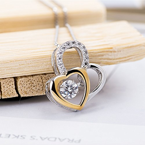s925 Silver Pendants Fashionable Smart Heart Necklace Pendant Heart India