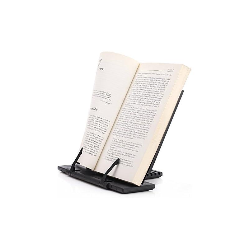 e-lishine-portable-steel-book-stand