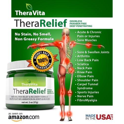 Soulagement de la douleur Cream - # 1 un soulagement rapide de la douleur par intérim pour l'arthrite, les douleurs lombaires, douleurs au cou, douleurs articulaires, douleur au genou, la sciatique et la douleur chronique. Non grasse, pas d'odeur, pas de