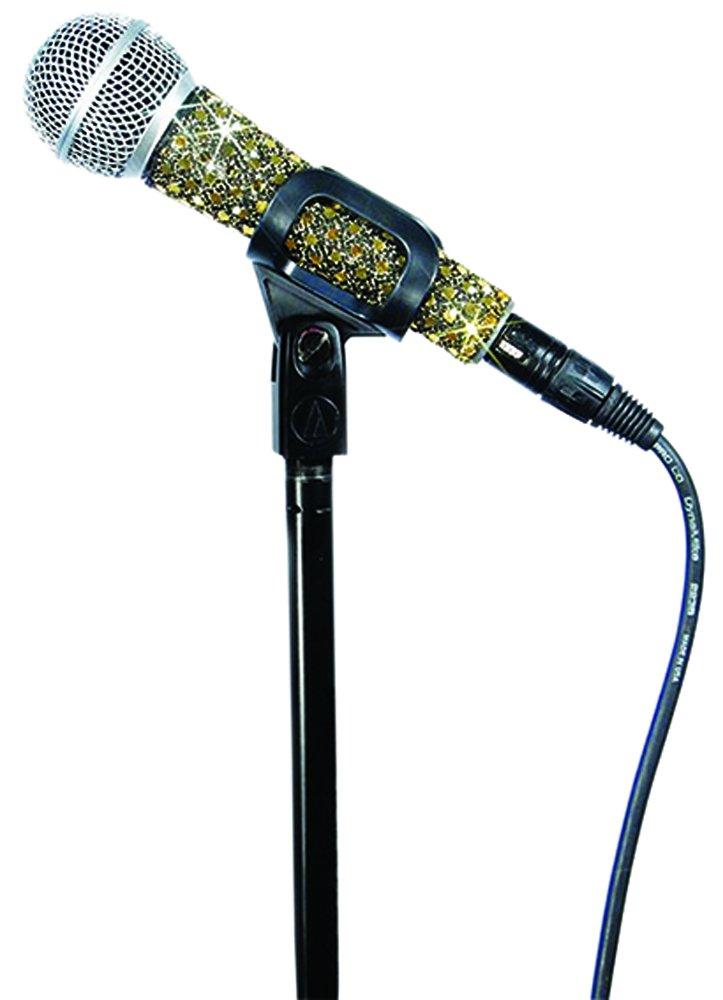MicFX SF051 Sensation - Cubierta para micrófono con cable, color dorado