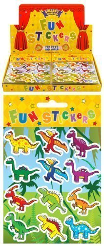 24 x Dinosaur Sticker Sheets - REFERENCE PBF159 The Harlequin Brand N51 055