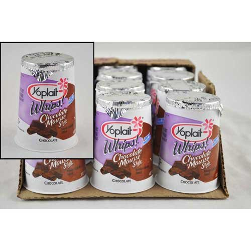 Chocolate Mousse Yogurt (Yoplait Whips Yogurt, Chocolate Mousse, 4 Ounce - 12 per case.)