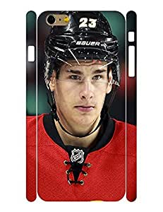 Deluxe Personalized Sports Series Men Pattern Hockey Player Action Skin for Iphone 6 Plus Case - 5.5 Inch wangjiang maoyi
