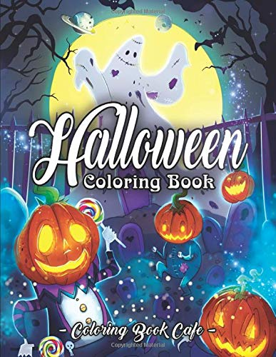 Halloween Coloring Book Featuring Relaxation