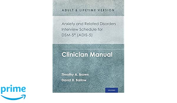 Anxiety Disorders Interview Schedule For Dsm V - Etuttor
