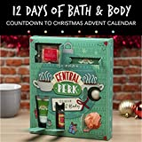 Paladone Central Perk 12 Days of Bath Advent