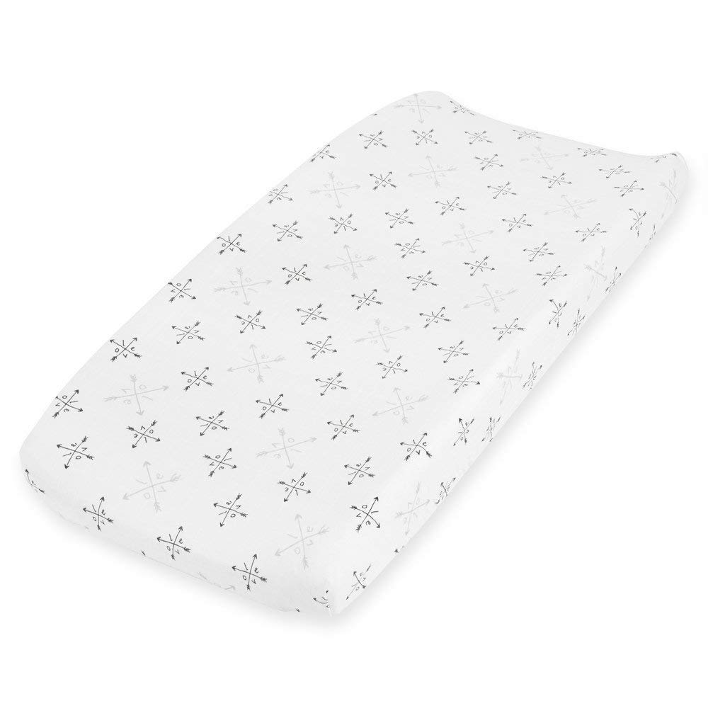 aden + anais Classic Changing Pad Cover, Lovebird Rose Water Dot 8717