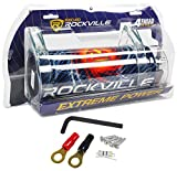 Rockville RXC4D 4 Farad Digital Car Capacitor Blue LED...