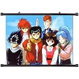 "Yu Yu Hakusho Anime Fabric Wall Scroll Poster (32"" x 24"") Inches. [WP] YuYu Hakusho- 32 (L)"