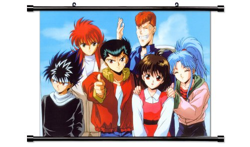 Yu Yu Hakusho Anime Fabric Wall Scroll Poster  Inches.  YuYu