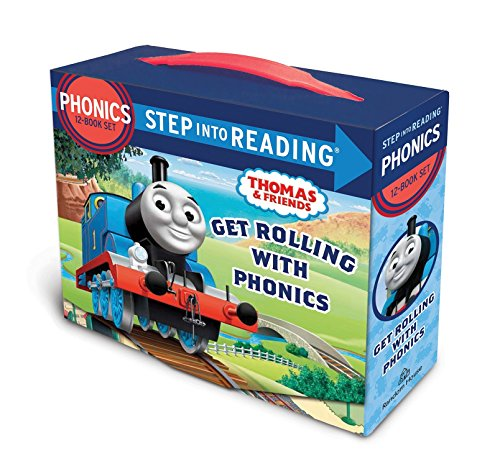 Get Rolling with Phonics (Thomas & Friends) (Step into Reading) (Toys For Kids Rolling)