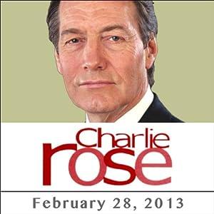 Charlie Rose: Bill Gates and Michael Bloomberg, February 28, 2013 Radio/TV Program