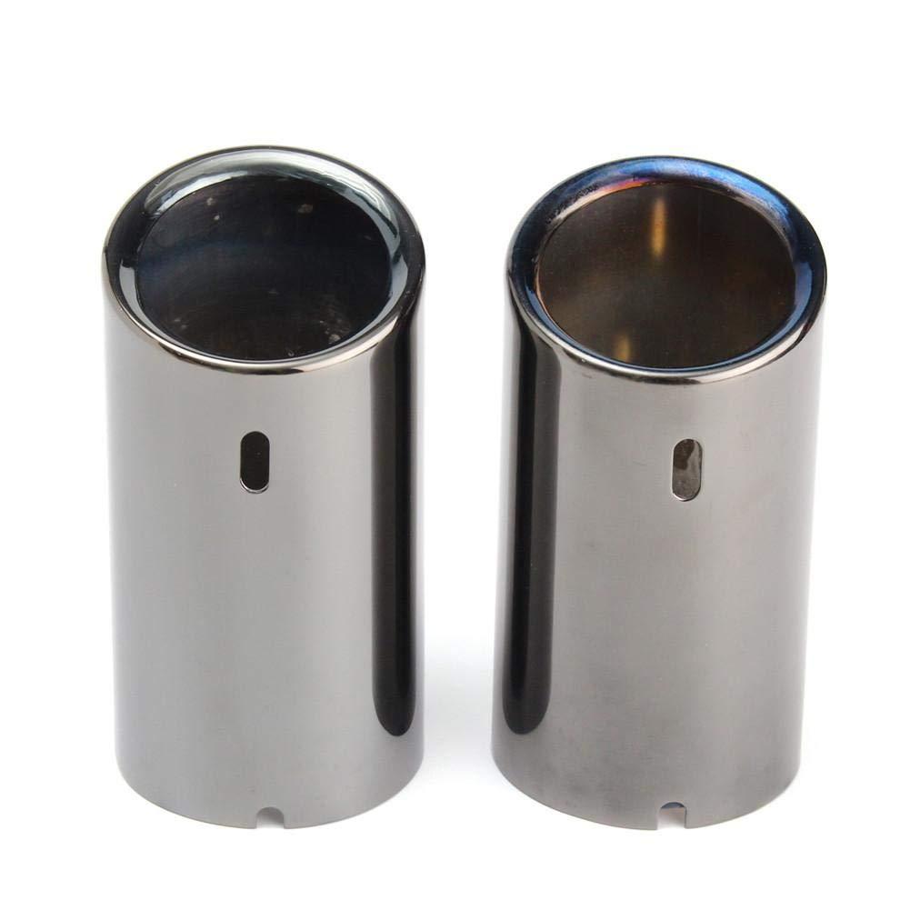 Tubo di Scarico Coda marmitta in Acciaio Inox per BMW E90 E92 325 328i 3 Serie 06-10 Euopat Tubi di Scarico di Scarico Auto