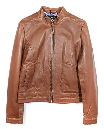 Massimo Dutti Women Brown jacket with