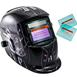 iMeshbean Pro Cool Solar Auto-Darkening Welding & Grinding Helmet + 2 pcs Extra Lens Covers ANSI Certified Model#1036 USA