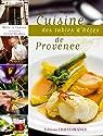 Cuisine des tables d'hôtes de Provence par Le Goaziou