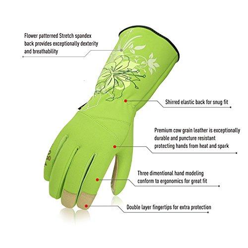 Buy gardening gloves long