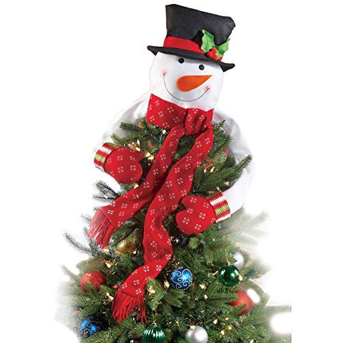 amily Tall Decoration Stuff, Holiday Toys Décor & Decorations Gift , Christmas Tree,Xmas/Holiday/Winter Party Supplies Standing Snowman Xmas (GREEN SCARF, LARGE 52.36''45.27'') ()