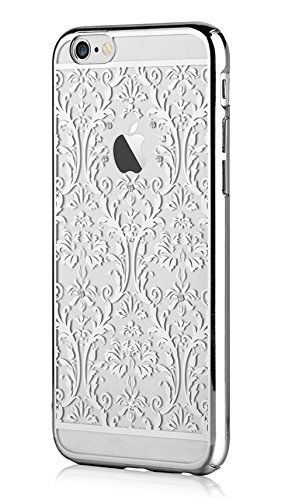 Iphone 6 4.7 & Iphone 6s,devia Crystal Baroque Series Unique & Fashion Gradient Design Decorated with Original Swarovski Element Hard Transparent Case for Iphone 6 4.7 & Iphone 6s