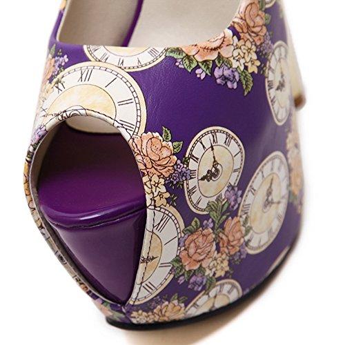 AdeeSuSdcg00061 - Ballerine Donna, Viola (Purple), 35