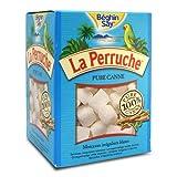 La Perruche Pure Cane Rough Cut White Sugar Cubes, Gluten Free, 17.6 ounce boxes (Pack of 4)
