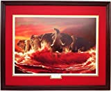 'Comes the Tide' Alabama Football Print By Roberta Wesley