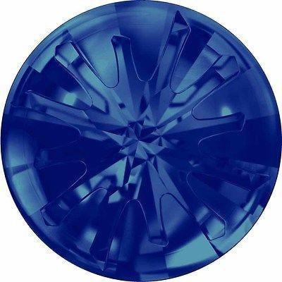 1695 Swarovski Chatons & Round Stones Sea Urchin - Designer Edition | Crystal Bermuda Blue | 14mm - Pack of 36 (Wholesale) | Small & Wholesale - Mm 14 Bermuda Crystal