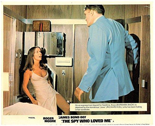 Richard Kiel And Barbara Bach 8 x 10 Autograph Reprint The Spy Who Loved Me