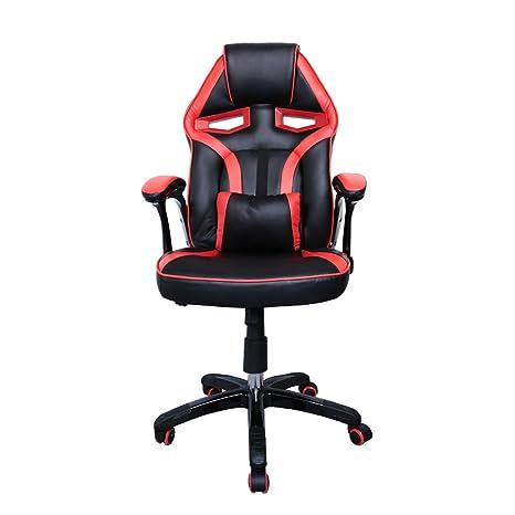 HG Silla Giratoria De Oficina Gaming Chair Apoyabrazos Acolchados Premium Comfort Silla Racing Capacidad De Carga