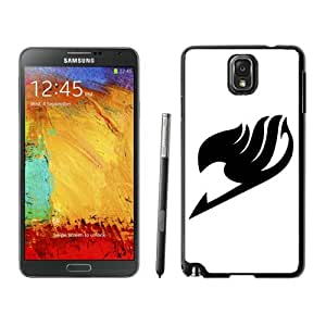 Genuine Fairy Tail 5 Black Samsung Galaxy Note 3 Screen Cellphone Case Lovely and Newest Design