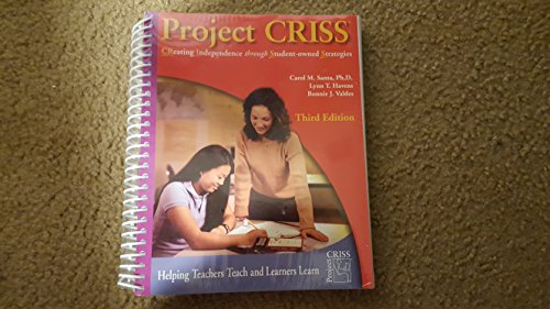 Project CRISS (Creating Independence Through Student-Owned Strategies)
