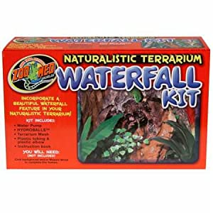 Zoo Med Naturalistic Terrarium Waterfall Kit 9