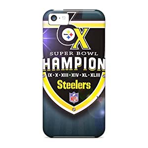 Awesome Cases Covers/iphone 5c Defender Cases Covers(pittsburgh Steelers)