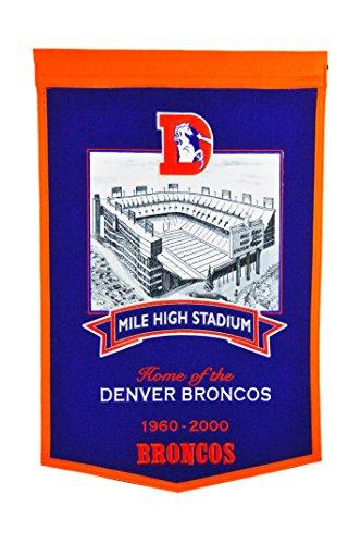 Winning Streak NFL Denver Broncos Mile High Stadium Banner ()