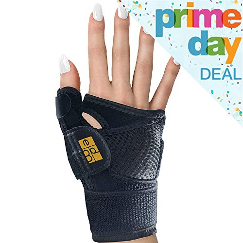 CMC Joint Thumb Splint for Arthritis and Carpal Tunnel Syndrome by Everyday Medical I Thumb Immobilizer Brace for Arthritis, Carpal Tunnel, CMC Joint, and Tendonitis I Stabilizer Support Splint