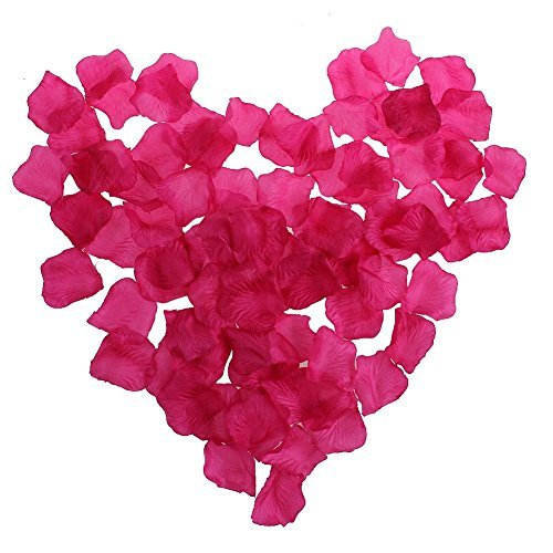 Aexge Wholesale 1000 Pack Silk Rose Petals Wedding Artificial Flower Home Party Garden Decoration