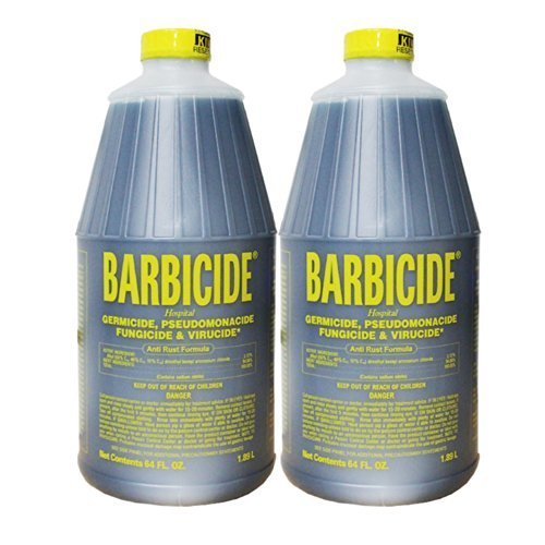 2Pc King Research BARBICIDE Hospital Germicide Virucide Anti-Rust Formula -64oz by king research (Hospital Germicide)