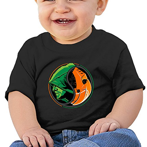 [KIDDOS Infants &Toddlers Baby's Fictional Hero Shirt 24 Months Black] (Lex Luthor Toddler Costume)