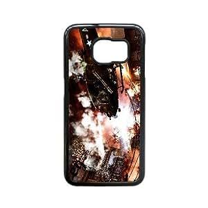 Generic for Samsung Galaxy S6 Edge Cell Phone Case Black Ops 2 Custom HLDKOLG9J2046