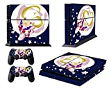 EBTY-Dreams Inc. - Sony Playstation 4 Original (PS4 Original) - Sailor Moon Anime Usagi Tsukino (Serena) Vinyl Skin Sticker Decal Protector