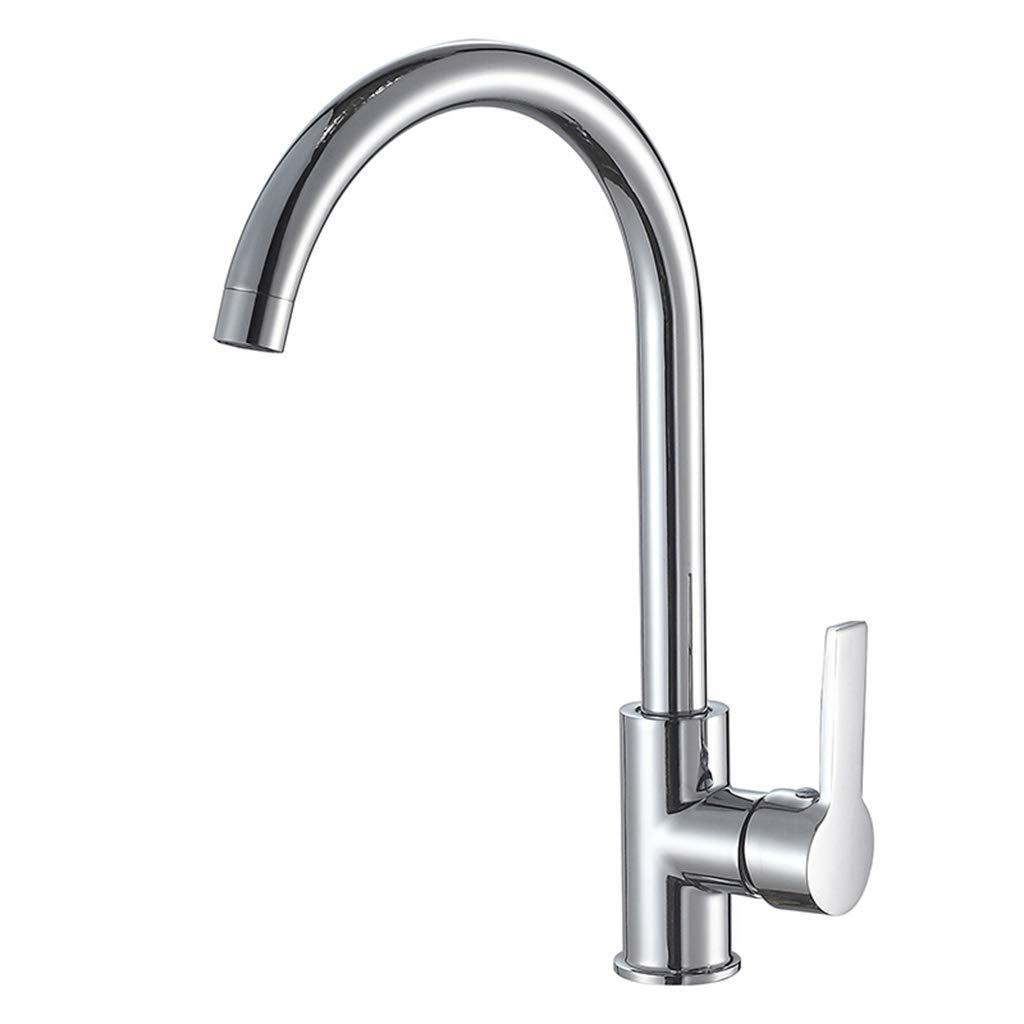 Yxx max Bathroom Kitchen Faucet Hot and Cold 360 Degree Rotating Health Lead-Free Sink Faucet