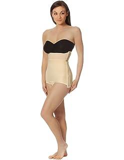 Ladies High Waist Mid Thigh Shaper Hose Cincher High-Waisted Shapewear Mieder