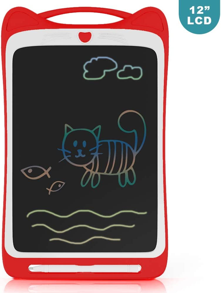 LCD Writing Tablet Richgv 12 Inches Light Drawing Board /& Drawing Doodle Board with Memory Lock for Kids /& Adult